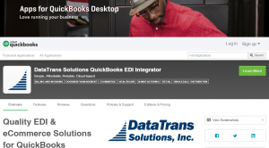 Quickbooks Desktop Quality EDI